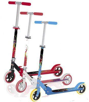 Самокат Сonnect от тм EXPLORE, Amigo-sport с большими колесами.