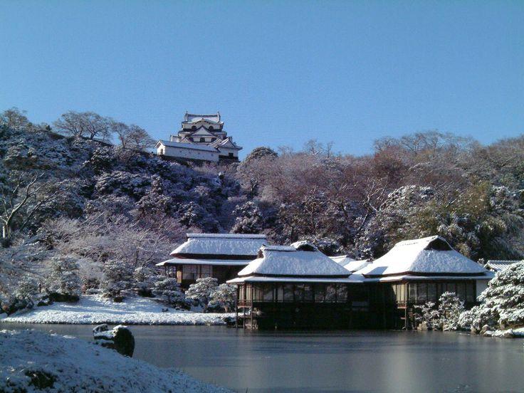 玄宮園と彦根城  #Hikone castle #Shiga