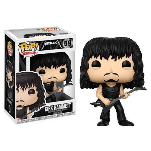 Metallica Kirk Hammett Pop! Vinyl Figure #59 - Funko - Metallica - Pop! Vinyl Figures at Entertainment Earth