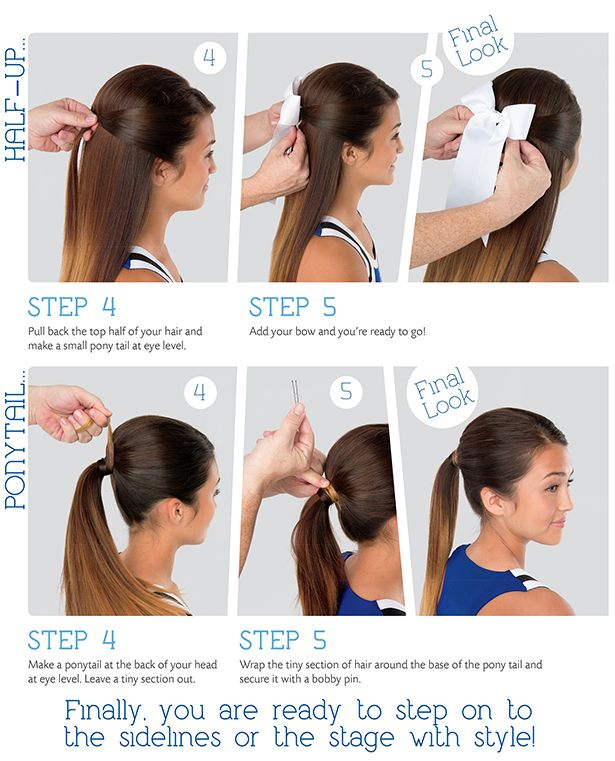 American Cheerleader Magazine has these Pouf Perfection tips for you and your team so you can create that unified look on the sidelines each week! Happy Styling!