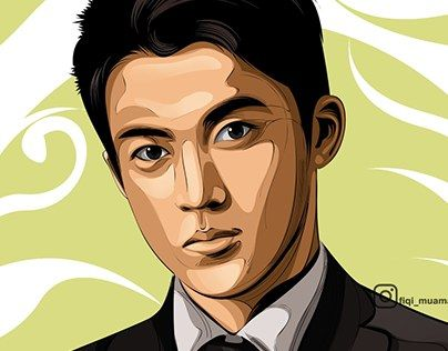 """fan art shun oguri vector vexel cartoon syle"" http://be.net/gallery/38631019/fan-art-shun-oguri-cartoon-syle"