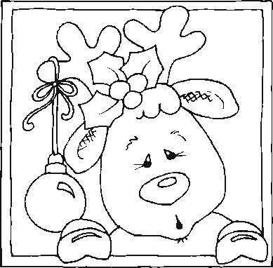 Reindeer - follow board for more drawings