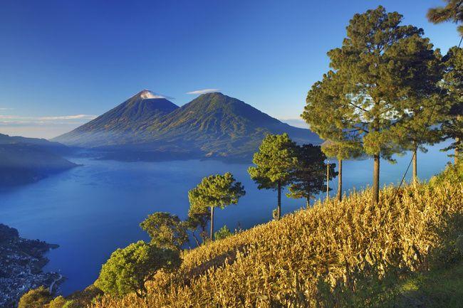 Volcanes Atitlan y Tolimán, Guatemala