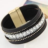 Diamond Decorated Multilayer Design Black