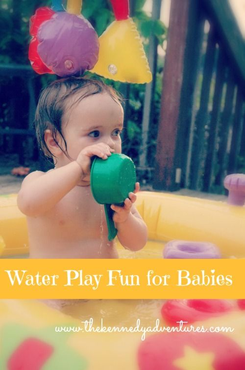 5 Days of Water Play for Kids: Bring out the Baby Pool