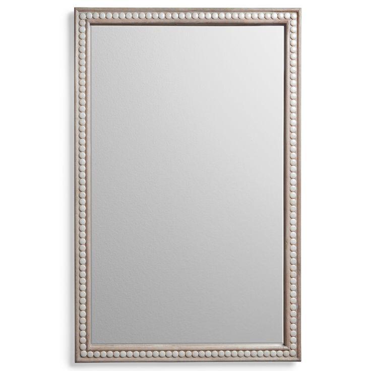 Bunk Bath - 35 x 53 Cabochon Cream Wall Mirror @Layla Grayce