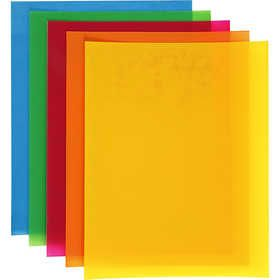 #Krimpfolie #vellen, vel 20x30 cm, 10 assorti vel, sterke kleuren