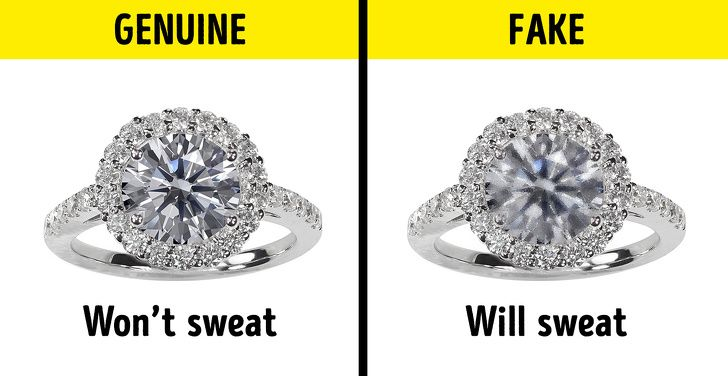 12 Useful Tips On How To Spot Fake Jewelry Fake Jewelry Fake Engagement Rings Fake Diamond