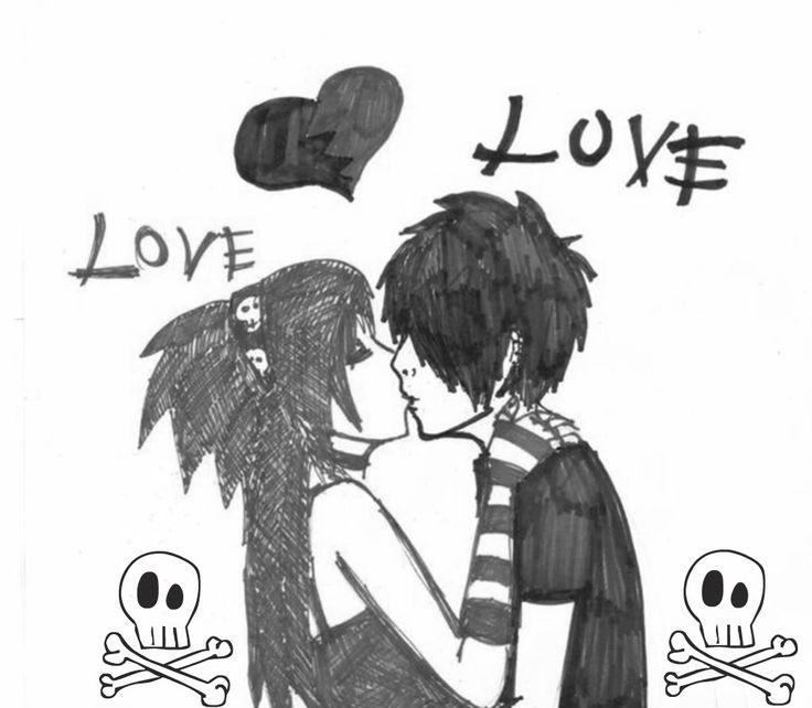 Imágenes emos enamorados