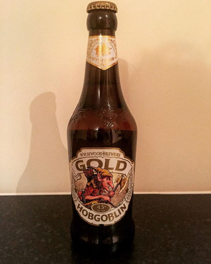 """Second on the menu tonight is the Gold Hobgoblin. And... Wow! It's absolutely amazing. I don't think I could drink just this all night though. It's like a special occasion relax in your comfy chair enjoy the taste type of beer. And one of the things I find fantastic is the after taste. It's like after you smoked weed. Same taste. I don't know if that's what they were going for but it works. Really hoppy robust tasting beer. Definitely worth buying. I just want to know what """"guilt edged""""…"""