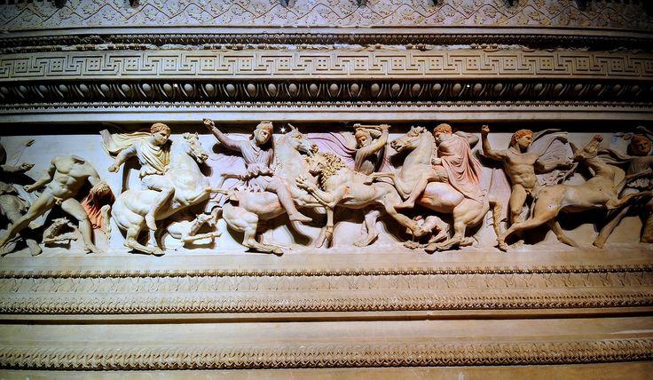 "https://flic.kr/p/8eSxqS | Detail -Tomb of Alexander the Great  / Detay - Büyük İskenderin Lahti | <a href=""http://www.istanbularkeoloji.gov.tr/"" rel=""nofollow"">www.istanbularkeoloji.gov.tr/</a>"