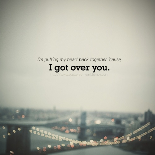 Over You - Daughtry. I still have so much love for this song!