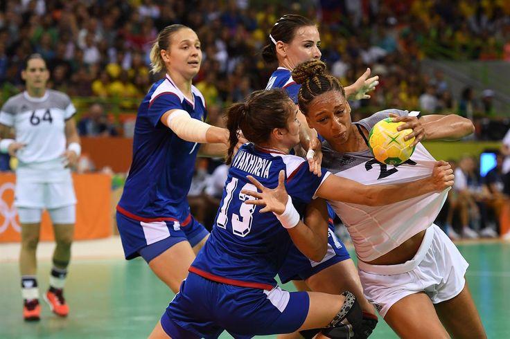 Edwige, Beatrice - France, Russian Federation - Handball - France, Refugee…