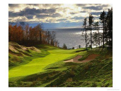 Arcadia Bluffs golf course, Arcadia, MI