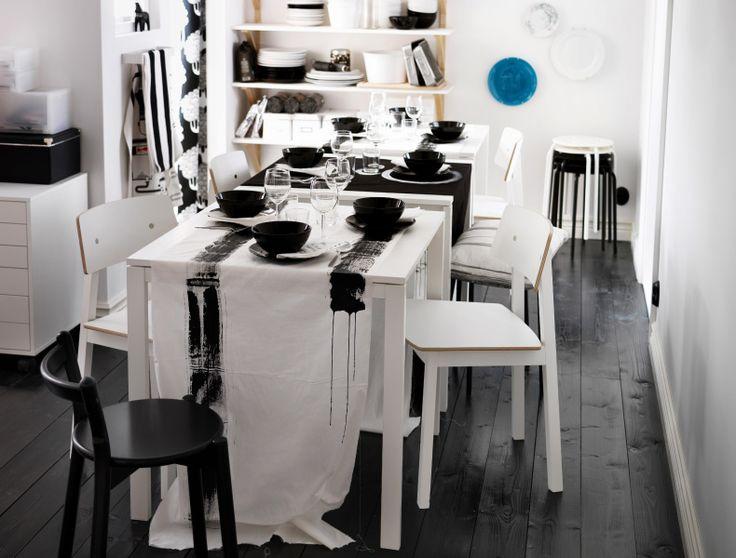 Die besten 25+ Esstisch mit stühlen ikea Ideen auf Pinterest - esszimmer landhausstil ikea