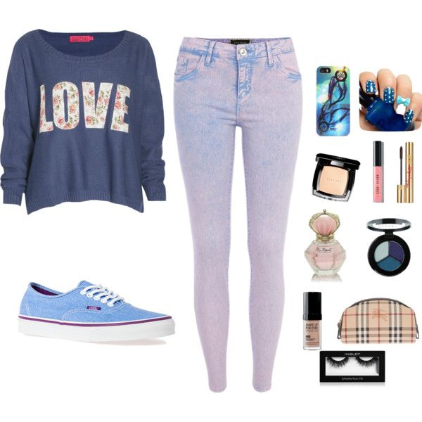 """Blue"" by alexanutella on Polyvore"