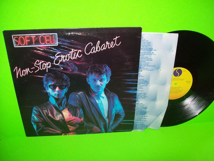 Soft Cell – Non-Stop Erotic Cabaret Vintage LP SynthPop Electronic Tainted Love #SoftCell #SynthPop #ElectronicMusic