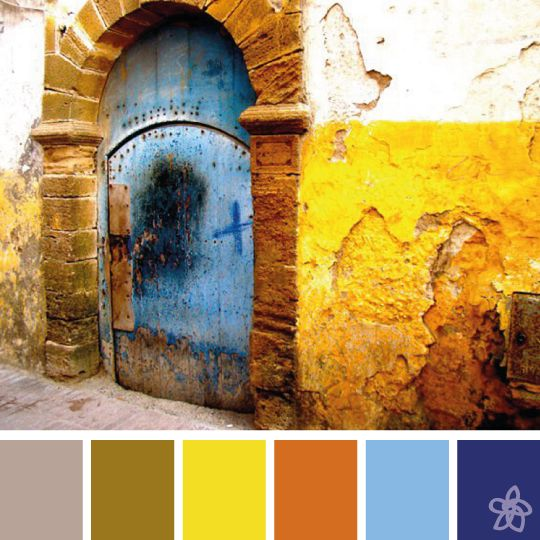 Morocco door - ph. camilla ceruti - jardin joli