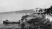 Το εξοχικό κέντρο «Καλαμάκι» στην Αρετσού. ▐░▌  Φωτογραφία του Γιώργου Λυκίδη γύρω στο 1930.