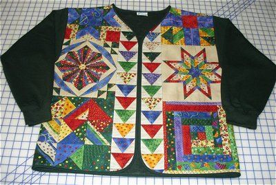 Quilted Jacket Patterns - Block of the Month Quilt Kits | Kaye Moore