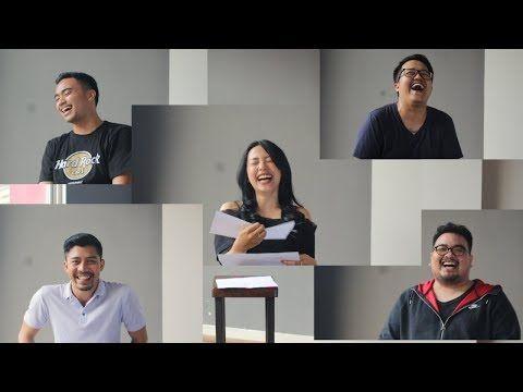 Kumpulan Video Lucu: PERSEPSI CHALLENGE - 5 Orang dan 10 Kalimat