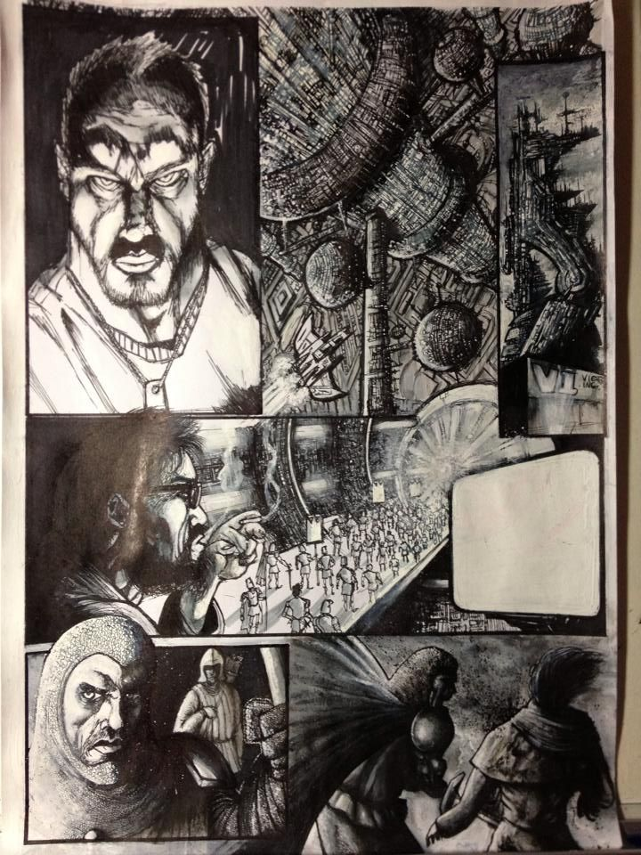 2000AD ThoughtBubble Competition 2014 (Final 8)