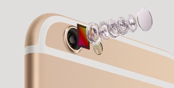 iPhone 6 Plus kamera