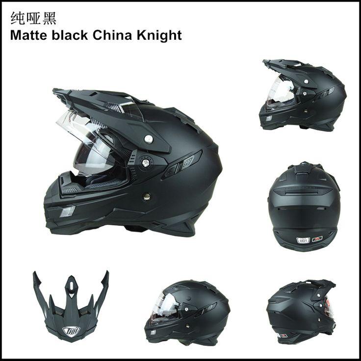 Marcas mens motocicleta thh capacetes de moto de corrida de motocross capacete off road rosto cheio de moto capacete cruz escudo duplo dot tx27