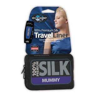 100% Premium silk travel liner |Sea to Summit