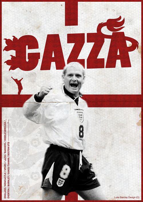 """#gazzabet Pronto il Film """"Gazza - British Raging Bull"""" con cui """"Gazza"""" Gascoigne tenterà di risollevare le sue finanze. Ecco il ritratto del giocatore leggendario di Tottenham e Lazio: http://bit.ly/1AW5vUb"""