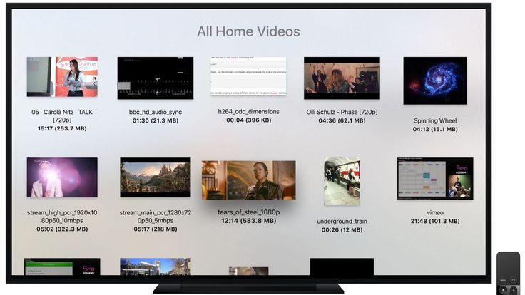 VLC video player launches on Apple TV