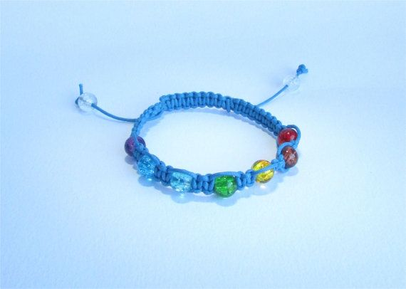 Turquoise Blue Healing Chakra Bracelet from by DelabudCreations