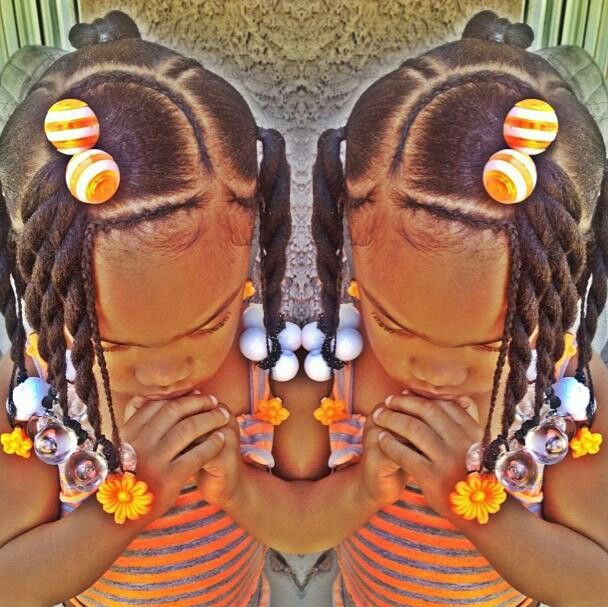 Excellent 1000 Images About Natural Kids Pig Ponytails On Pinterest Short Hairstyles Gunalazisus