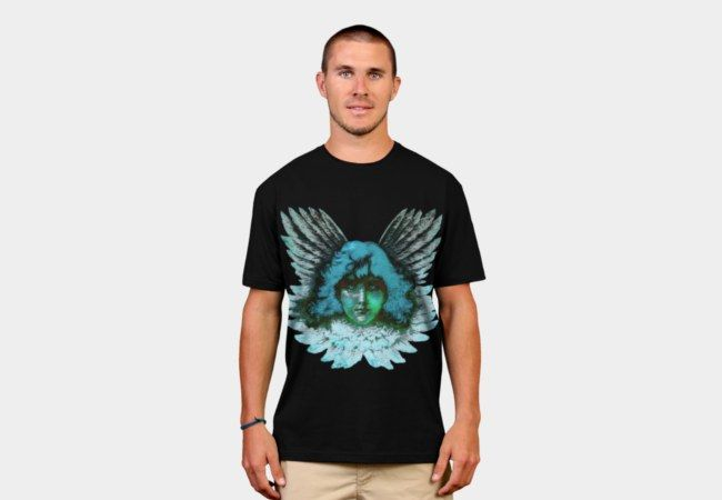 Blue Seraph T Shirt By Artbymimulux Design By Humans.