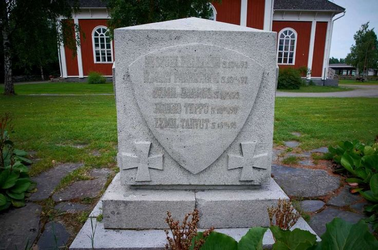 Kortesjärvi: 1918 vapaussodan sankarien muistomerkki