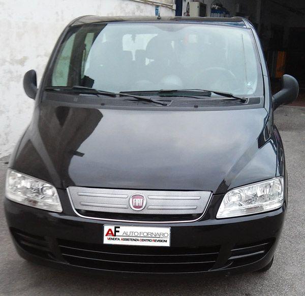 Fiat Multipla 1.6 BIPOWER -  vernice metallizzata - stereo con CD - 4 vetri elttrici - clima - Antifurnto con telecomando apertura e chiusura porte.