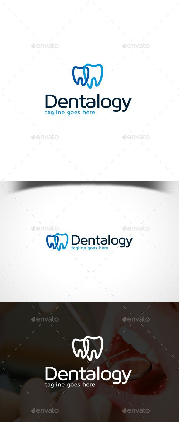 Dental Logo Template — Vector EPS #healthy #dent • Available here → https://graphicriver.net/item/dental-logo-template/11564948?ref=pxcr