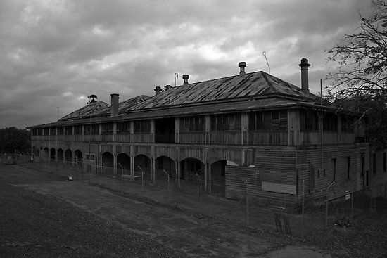 Wolston Park Asylum, Queensland, Australia. I'm going to have a look at this and take some pics myself.