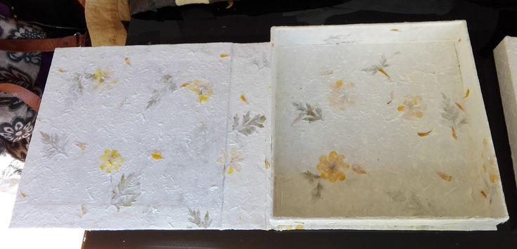 Creazione album di nozze e scatola contenitore by Emanuela Terraneo