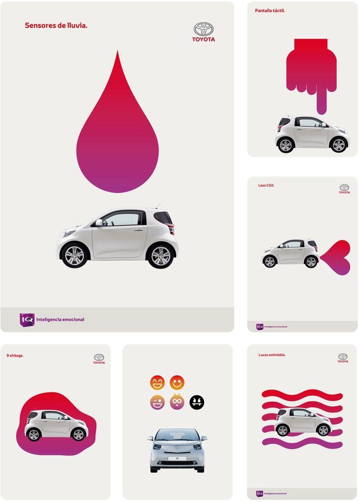 Toyota_ Identidad Visual y Campaña gráfica Toyota IQ '09 by www.m-m.es