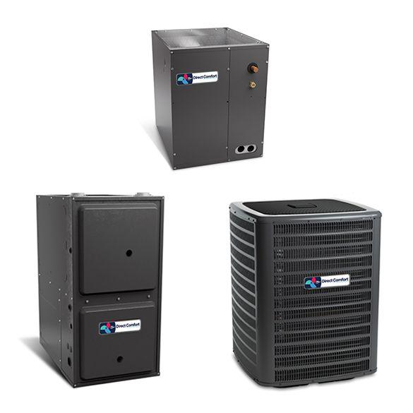 2 Ton Direct Comfort Dc Gsx140241 14 Seer Central Air Conditioner 40 000 Btu In 2020 Central Air Conditioners Central Air Conditioning System Central Air Conditioning