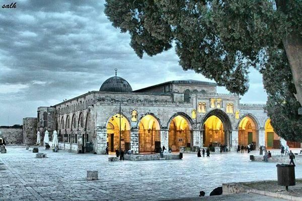 Al Aqsa Mosque In Jerusalem Palestine مسجد الاقصى في القدس فلسطين Beautiful Mosques Palestine Art Islamic Paintings
