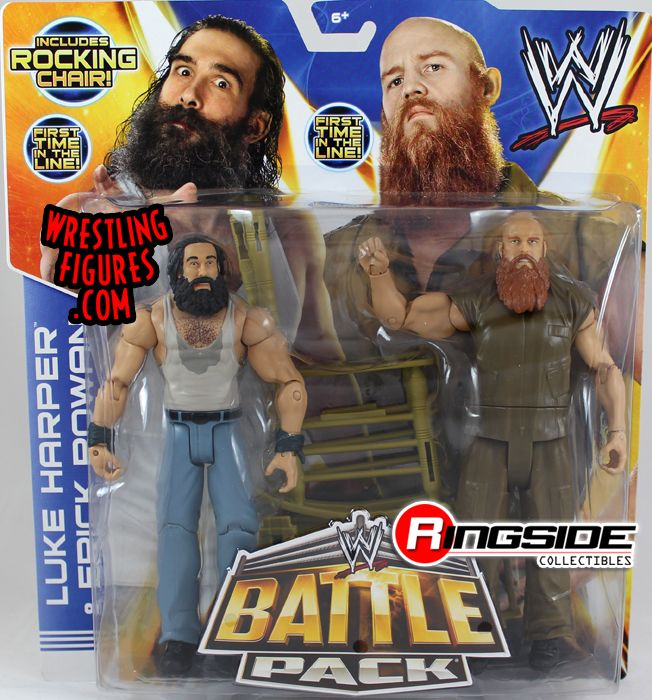 Luke Harper & Erick Rowan - WWE Battle Packs 28 | Ringside Collectibles