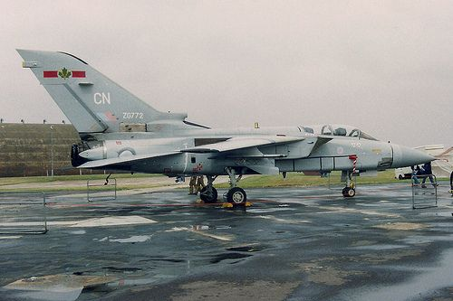 Panavia Tornado  F.3 RAF ZG772. 5 Squadron flew Tonados from 1987 to 2003 from RAF Coningsby.