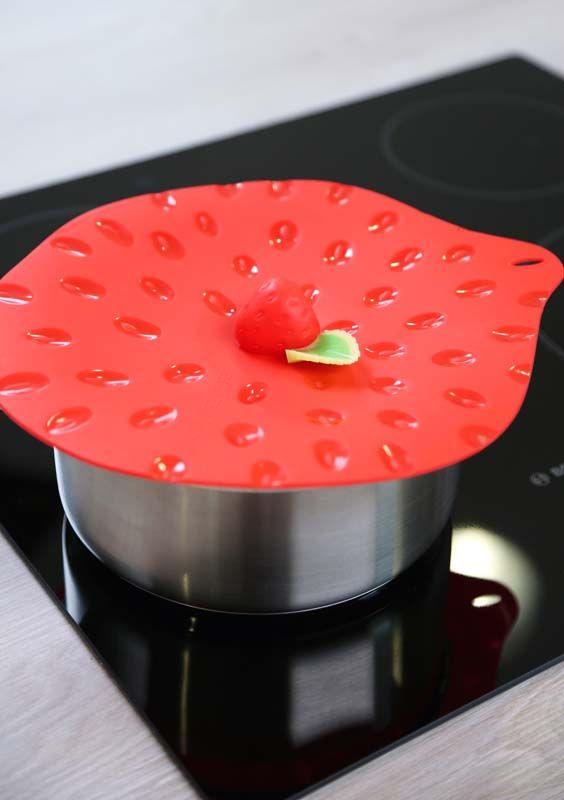Strawberry lid