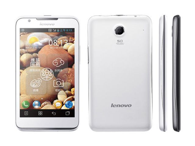 Lenovo S880, cheap and cheerful Android phone