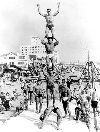 Top 10 Reasons That Jack LaLanne May Have Been Superhuman.. ( Del Mar Club in background, Santa Monica ).