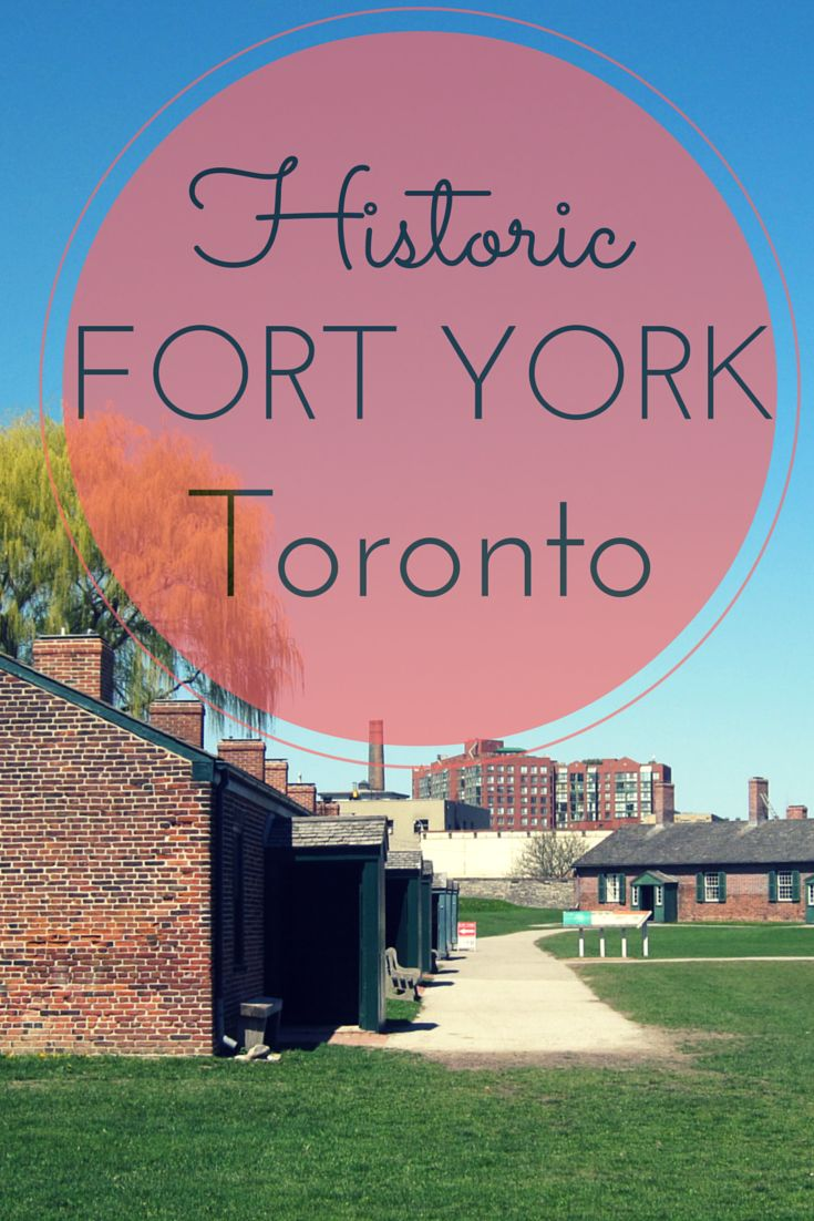 Fort York, a historic fort and museum in downtown Toronto