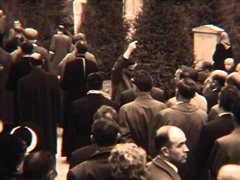 Funeral of the OUN-r Stepan Bandera conductor.  1959