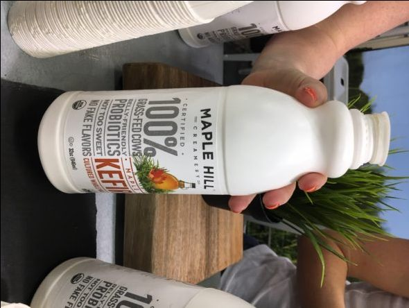 6 New Real Food Snacks Hitting Shelves Soon - Maple Hill Kefir - on 100 Days of Real Food